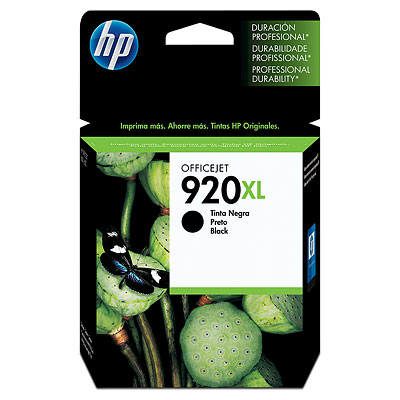 Mực in HP 920XL Black Officejet Ink Cartridge (CD975AA)