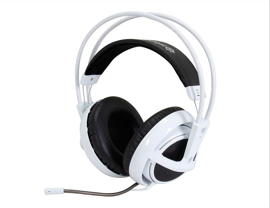 Tai Nghe Steelseries Siberia V2 Full-Size Headset (White) - Tech4you vn