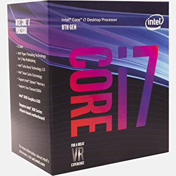 Intel Core i7-8700 CoffeeLake (3.2GHz Upto 4.6Ghz)