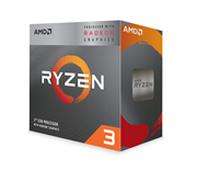 CPU AMD Ryzen 3 2200G (4C/4T, 3.5 GHz up to 3.7 GHz, 4MB) - AM4